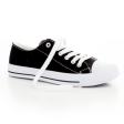 Danice Lace Up Rubber Toe Canvas Sneakers - $9.99
