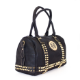 Danice Studded Barrel Satchel Bag - $14.99